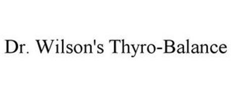 DR. WILSON'S THYRO-BALANCE