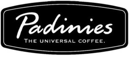 PADINIES THE UNIVERSAL COFFEE.