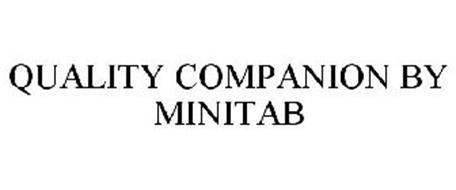 COMPANION BY MINITAB