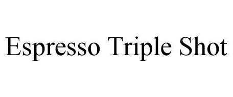 ESPRESSO TRIPLE SHOT