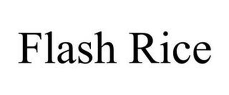 FLASH RICE
