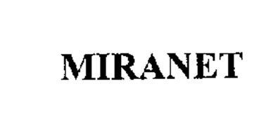 MIRANET Trademark Of MIRANT CORPORATION Serial Number 76242095