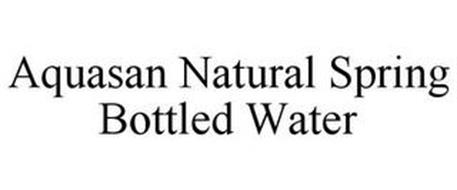 AQUASAN NATURAL SPRING BOTTLED WATER