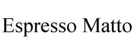ESPRESSO MATTO