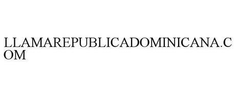 LLAMAREPUBLICADOMINICANA.COM