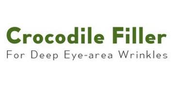 CROCODILE FILLER FOR DEEP EYE-AREA WRINKLES