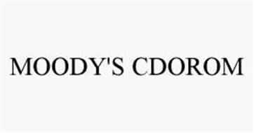 MOODY'S CDOROM