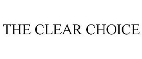 THE CLEAR CHOICE