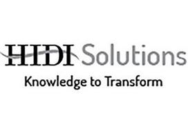 HIDI SOLUTIONS KNOWLEDGE TO TRANSFORM