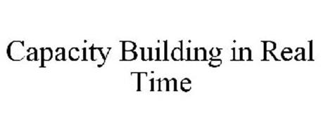 CAPACITY BUILDING IN REAL TIME