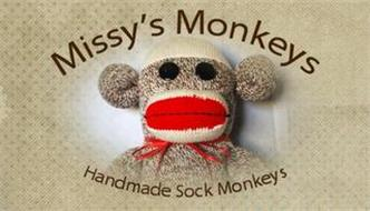 MISSY'S MONKEYS HANDMADE SOCK MONKEYS