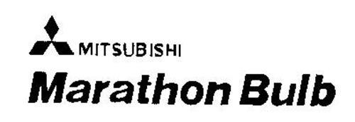 mitsubishi marathon bulb trademark of mitsubishi electric corporation  serial number  73552188