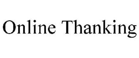 ONLINE THANKING