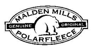 Malden Mills Genuine Original Polarfleece Trademark Of Mmi