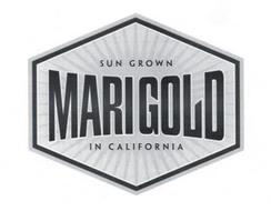 MARIGOLD SUN GROWN IN CALIFORNIA