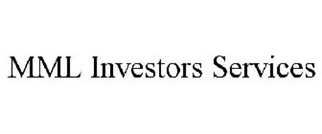 mml investors services MML INVESTORS SERVICES Trademark of MML Investors Services, LLC ...