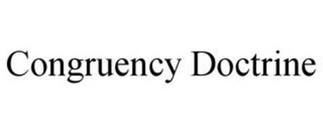 CONGRUENCY DOCTRINE