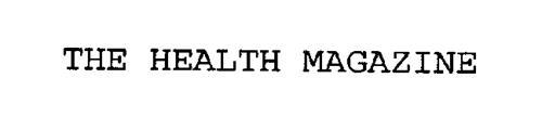 THE HEALTH MAGAZINE