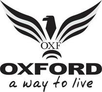 OXF OXFORD A WAY TO LIVE