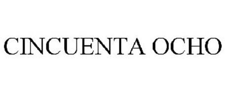 CINCUENTA OCHO