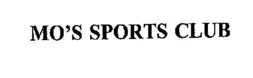 MO'S SPORTS CLUB