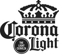 CORONA LIGHT THE LIGHT CERVEZA