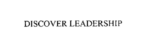 DISCOVER LEADERSHIP