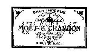 MOET & CHANDON BRUT IMPERIAL CHAMPAGNE APPELLATION D'ORIGINE CONTROLEE EPERNAY FRANCE FONDE EN 1743 BRUT 1743