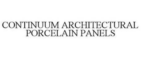 CONTINUUM ARCHITECTURAL PORCELAIN PANELS