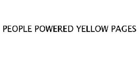 PEOPLE POWERED YELLOW PAGES