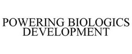 POWERING BIOLOGICS DEVELOPMENT