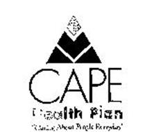 """CAPE HEALTH PLAN """"CARING ABOUT PEOPLE EVERYDAY"""""""