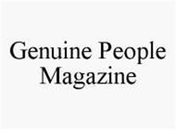 GENUINE PEOPLE MAGAZINE