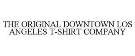 THE ORIGINAL DOWNTOWN LOS ANGELES T-SHIRT COMPANY