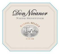 DON NICANOR NIETO SENETINER BARREL SELECT DESDE 1888
