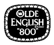 "OLDE ENGLISH BRAND ""800"""