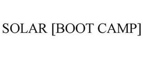 SOLAR [BOOT CAMP]