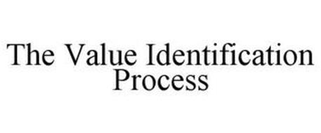 THE VALUE IDENTIFICATION PROCESS
