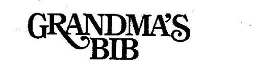 GRANDMA'S BIB