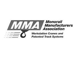 MMA MONORAIL MANUFACTURERS ASSOCIATION WORKSTATION CRANES AND PATENTED TRACK SYSTEMS