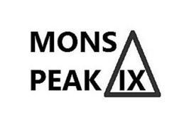MONS PEAK IX