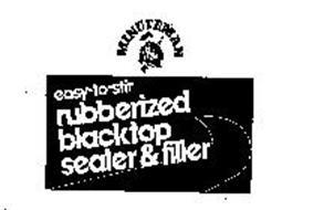 MINUTEMAN EASY-TO-STIR RUBBERIZED BLACKTOP SEALER & FILLER
