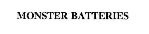 MONSTER BATTERIES