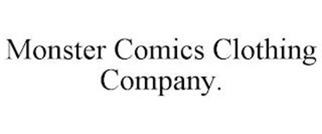 MONSTER COMICS CLOTHING COMPANY.