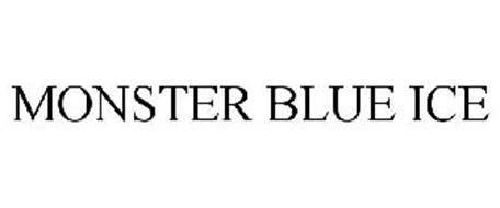 MONSTER BLUE ICE