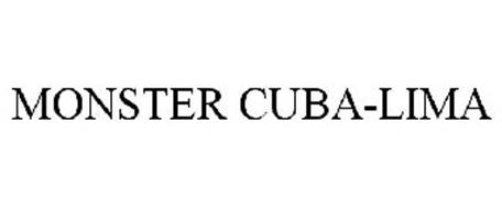 MONSTER CUBA-LIMA Trademark of Monster Energy Company. Serial Number ...