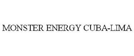 Monster energy cuba lima trademark of monster energy company serial number 85652411 - Monster energy corporate office ...