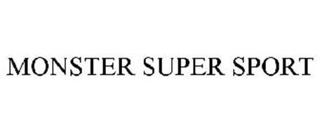 MONSTER SUPER SPORT