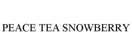 PEACE TEA SNOWBERRY