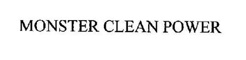 MONSTER CLEAN POWER